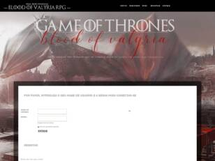 Blood of Valyria RPG