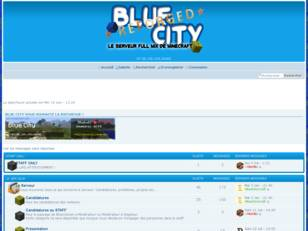 Blue City : Le serveur RP/Freebuild de Minecraft !
