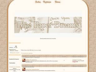 Blue Paper Dreams