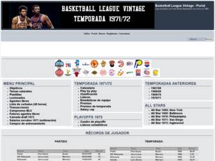 Basketball League Vintage