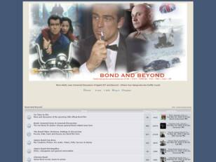 Bond And Beyond: A James Bond Forum Community Devoted To MI6 Agent 007