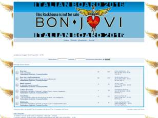 Forum Bon Jovi - This House Is Not For Sale