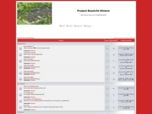 Forum gratis : Project Boszicht Alme