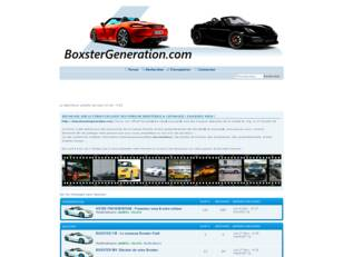 FORUM BOXSTER & CAYMAN GENERATION