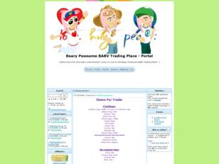 Free forum : Beary Pawsome BABV Trading Place