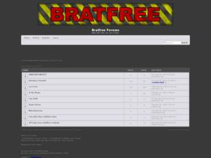 Bratfree Forum