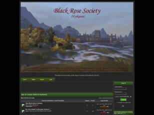 Black Rose Society : Age of Conan (Hyrkania)