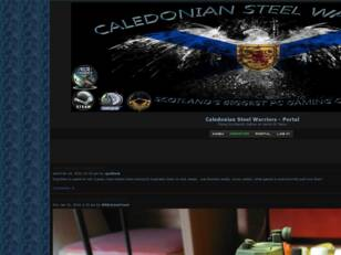 Welcome to Caledonian Steel Warriors