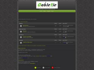 CableTie Racing: Forum