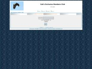 Cab's Exclusive Members Club