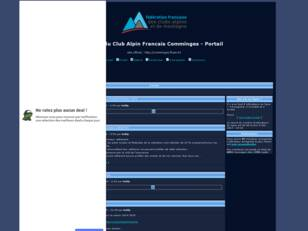 Forum du Club Alpin Francais du Comminges