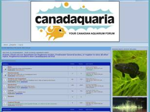 Canadaquaria Your Canadian Aquarium Forum