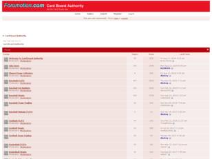 Free forum : Card Board Authority