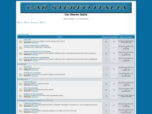 Forum gratis : Car Stereo Italia
