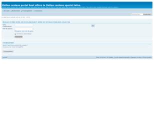 Online casinos new slots games and last Online casinos bonuses offers.