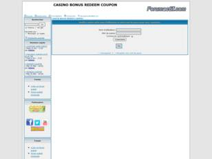 redeem coupons casino bonus RTG 770 MICROGAMING