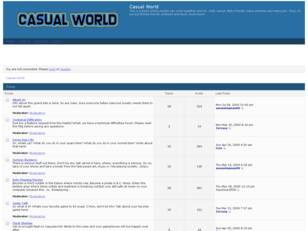 Free forum : Casual World