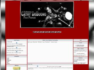 Cathy DeBuono Fan Forum