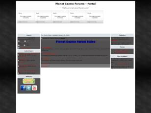 The Planet Cazmo Forums