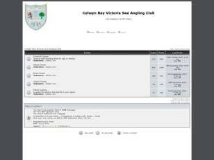 Free forum : Colwyn Bay Victoria Sea Angling Club