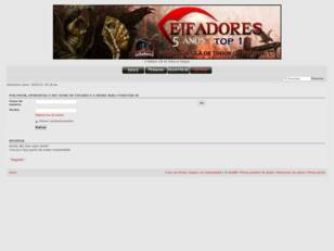 Forum Oficial do Clã Ceifadores