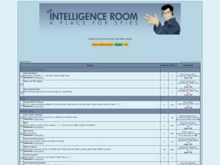 Free forum : Intelligence Room
