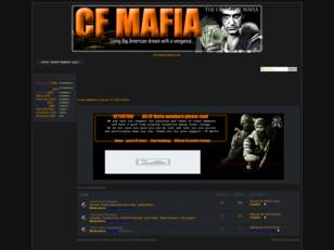 CF Mafia..when you run you only die tired
