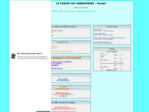 CGT HEBDOPRINT LE FORUM