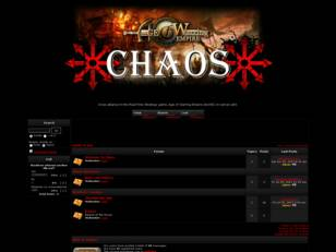 CHOAS on AoE