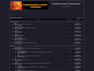 Free forum : Charizard's Army CS Gaming Clan