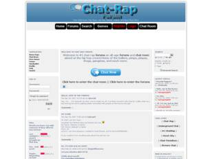 #1 Chat Rap Forum