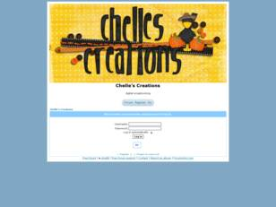 Free forum : Chelle's Creations
