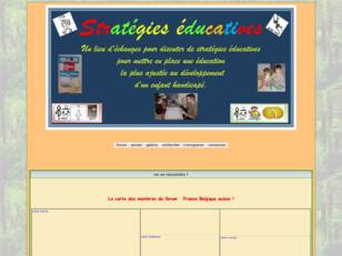 lieu d'echanges pour discuter de strategies educa