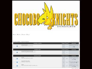 Chocobo Knights :: Bulletin Board System