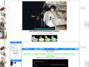 Choi Minho First Vietnamese Fansite»