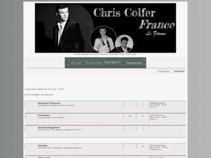 Chris Colfer France