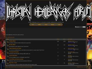 Christian Headbangers Forum