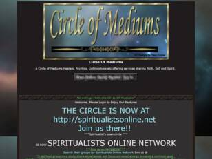 Circle Of Mediums/Spiritualistonline.net