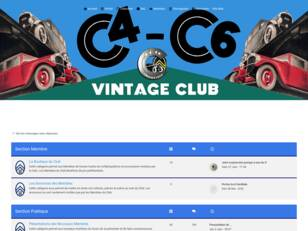 Le forum officiel du C4-C6 Vintage Club