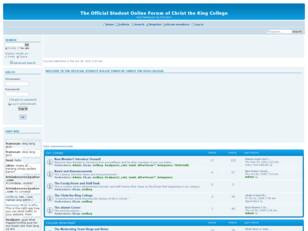 Christ the King College Online Forum