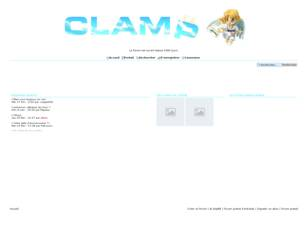 Bienvenue sur le Clamp Great Forum !!