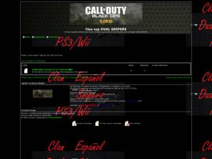 Clan español DUAL SNIPERS black ops WII/PS3