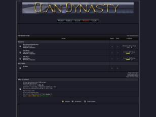 Clan Dynasty Forum