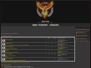 Website del Clan Fenix
