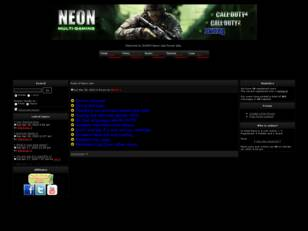 Neon multigaming clan