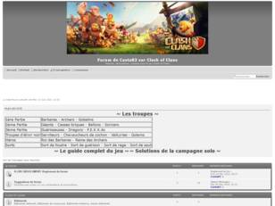 Clash of Clans: Forum de Casta83