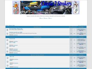 Free forum : Classic 2Stroke World