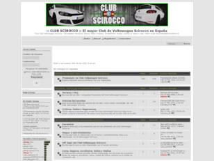 :: CLUB VW SCIROCCO :: El mayor Club del Volkswagen Scirocco
