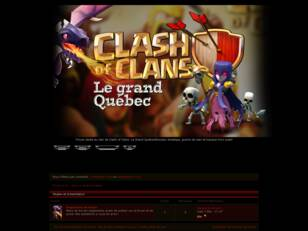 Forum CoC - Clan le Grand Québec