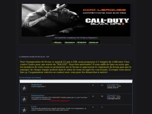 COD-LEAGUES: Compétitions Call Of Duty - Black Ops II [PS3]